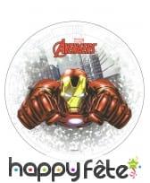 Disque azyme Iron Man Avengers de 20cm