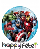 Déco Avengers Mighty pour table d'anniversaire, image 1