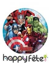 Déco Avengers Mighty pour table d'anniversaire, image 2