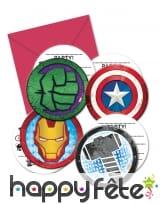 Déco Avengers Mighty pour table d'anniversaire, image 6