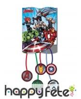 Déco Avengers Mighty pour table d'anniversaire, image 8
