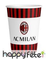 Décoration AC Milan de table, image 5