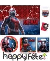 Décoration Ant-Man pour table d'anniversaire