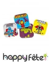 Décoration Avengers pop comic pour table, image 1