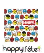 Décoration Avengers pop comic pour table, image 8