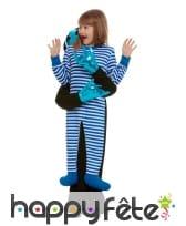 Déguisement attrapé par un Alien bleu pour enfant, image 1