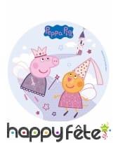 Disque azyme Peppa Pig de 20 cm, image 1