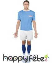 Déguisement babyfoot bleu