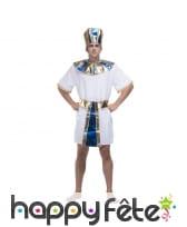 Déguisement blanc de pharaon pour homme
