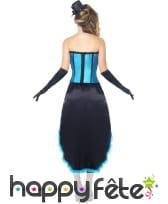 Déguisement bleu danseuse burlesque, image 1