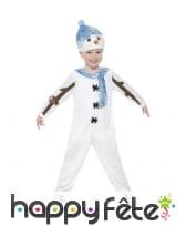 Déguisement bonhomme de neige pour enfant, image 1