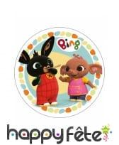 Disque Bing et ses amis en azyme de 21 cm, image 4