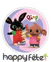 Disque Bing et ses amis en azyme de 21 cm, image 2