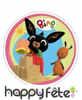 Disque Bing et ses amis en azyme de 21 cm, image 1
