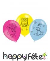 Décoration Bob l'Eponge pour anniversaire, image 2