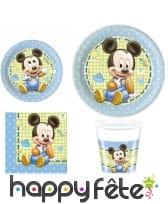 Déco Bébé Mickey d'anniversaire