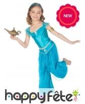 Déguisement bleu oriental pour fille, image 1
