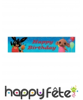 Décoration Bing pour table d'anniversaire, image 2