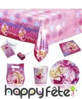 Décorations Barbie pour table d'anniversaire