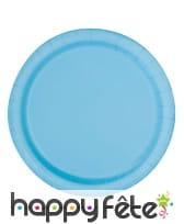 Décorations bleues pastelles d'anniversaire, image 3