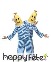 Déguisement bananes pyjama