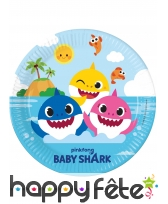 Décoration Baby Shark pour table d'anniversaire, image 1