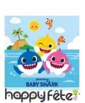 Décoration Baby Shark pour table d'anniversaire, image 2