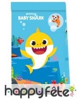 Décoration Baby Shark pour table d'anniversaire, image 4
