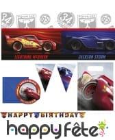 Décorations Cars 3 pour anniversaire