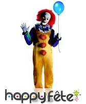 Déguisement clown Ça avec masque