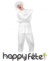 Déguisement camisole de fou blanche