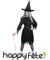 Déguisement costume de sorcière sexy