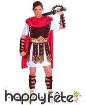 Déguisement cuirasse de soldat romain marron, image 3