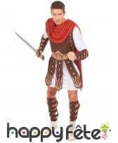 Déguisement cuirasse de soldat romain marron