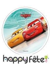 Disque Cars en azyme de 21 cm, image 2