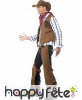 Déguisement cowboy franges, image 1