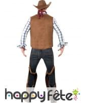 Déguisement cowboy franges, image 2