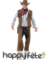 Déguisement cowboy franges