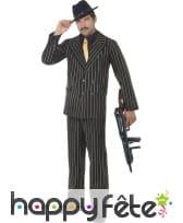 Déguisement costume gangster homme