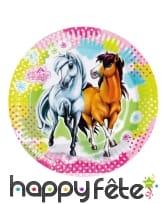 Décoration Charming Horses pour table, image 1