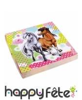 Décoration Charming Horses pour table, image 3