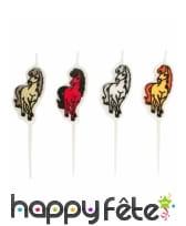 Décoration Charming Horses pour table, image 8