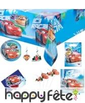 Décos Cars Ice Racers pour anniversaire
