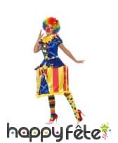 Déguisement carousel lumineux de clown pour femme, image 1