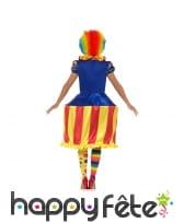 Déguisement carousel lumineux de clown pour femme, image 2