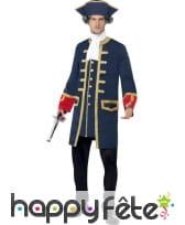 Déguisement commandant marine anglaise