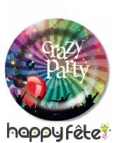 Décoration Crazy party de table, image 1