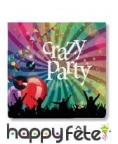 Décoration Crazy party de table, image 2