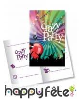 Décoration Crazy party de table, image 6