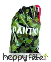 Décorations camouflage pour anniversaire, image 2
